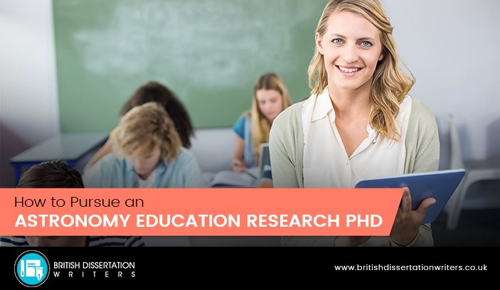 how to pursue an astronomy education research PhD